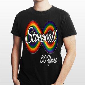 Lgbtq World Pride Nyc Stonewall 50 Years shirt