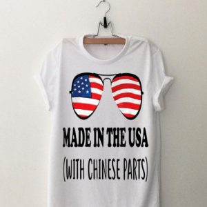 Made In Usa With Chinese Parts American shirt