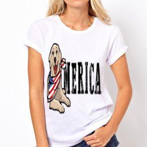 Merica Dog Bandana 4Th Of July American Flag shirt