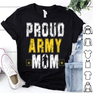 Proud Army Mom Usa Veteran For Mother shirt