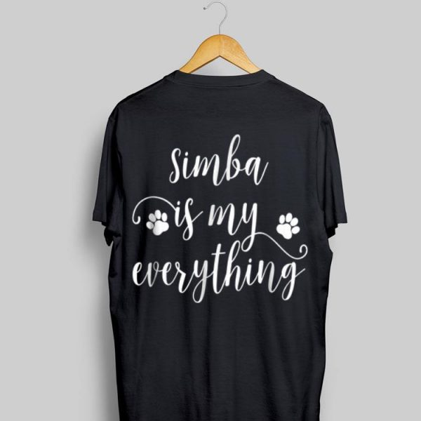 Simba Dog Name Dog shirt