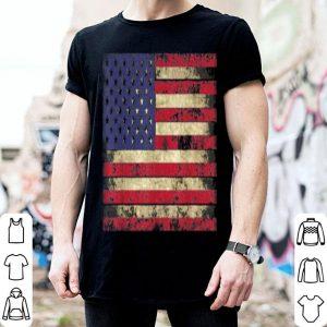 USA Flag Distressed Style shirt