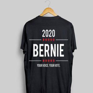 Your Voice Your Vote Bernie 2020 Election shirt