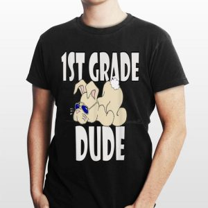 1St Grader Cool Boys New Grade First Day Of School shirt