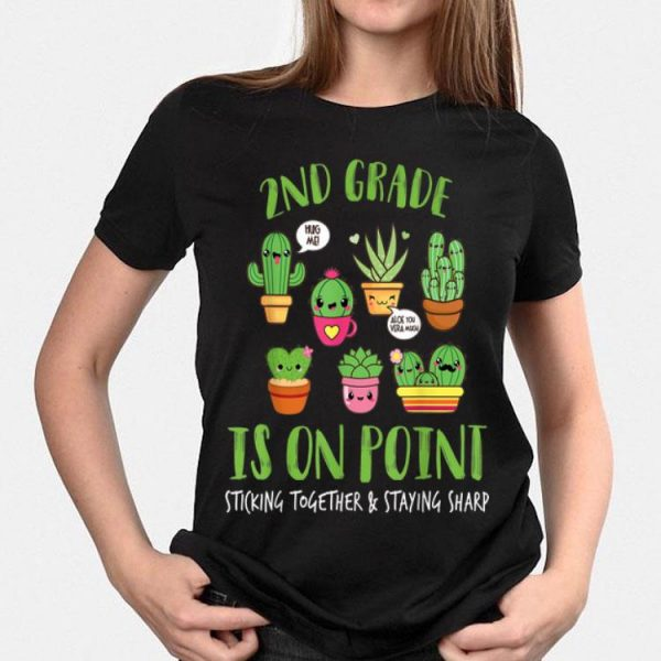 2nd Grade Is On Point Sticking Together And Staying Sharp shirt