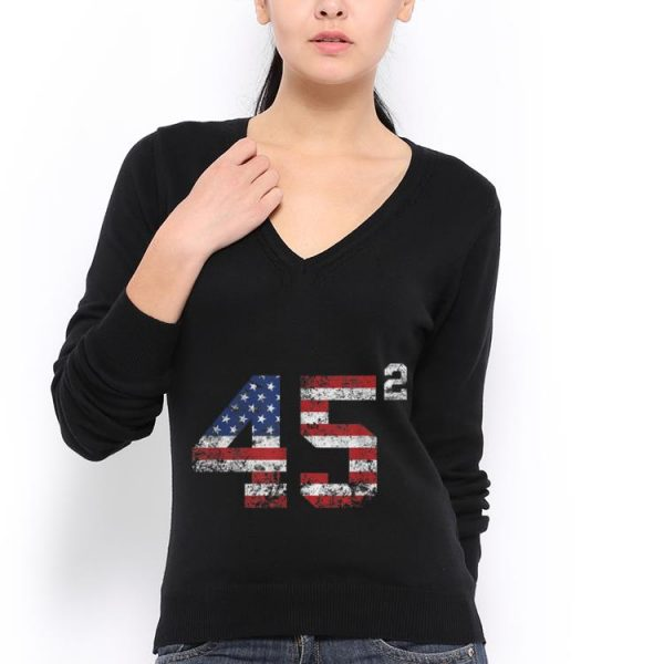 45 Squared American Donald Trump 2020 hoodie