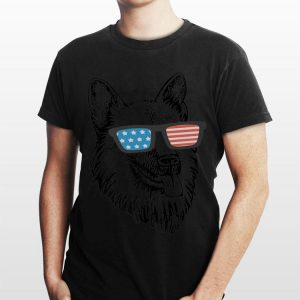 4Th July American Flag German Shepherd shirt