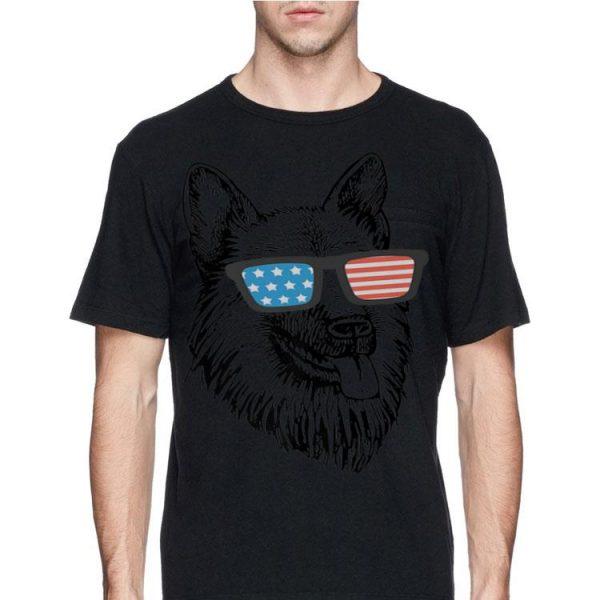 4Th July American Flag German Shepherd shirt
