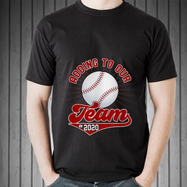 Adding To Our Team In 2020 Baseball hoodie