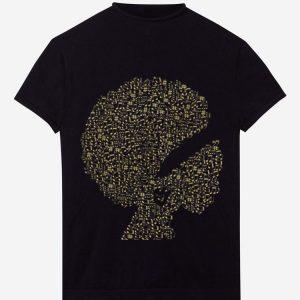 Afro Jazz Diva Melanin Gold Music hoodie