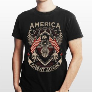 America Great Again Trump 2020 American Eagle Flag shirt