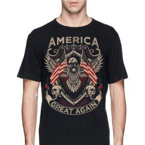 America Great Again Trump 2020 American Eagle Flag shirt