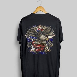 American Flag Eagle 4Th Of July Independence Day Usa Cool shirt