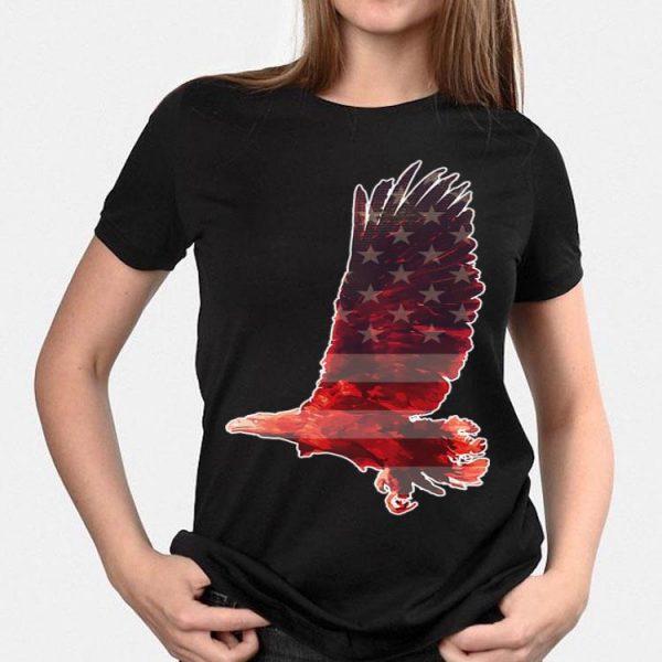 American Patriot Bald Eagle Usa Stars Stripes Outfit shirt
