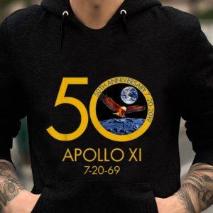 Apollo 11 Moon Landing 50th Anniversary Eagle 7-20-96 guy tee