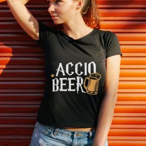 Awesome Accio Beer Harry Potter Magic Spell Drink shirt 2