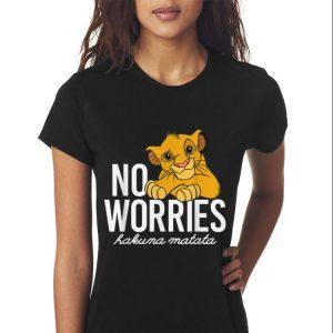 Awesome Disney Lion King No Worries Hakuma Matata shirt 2