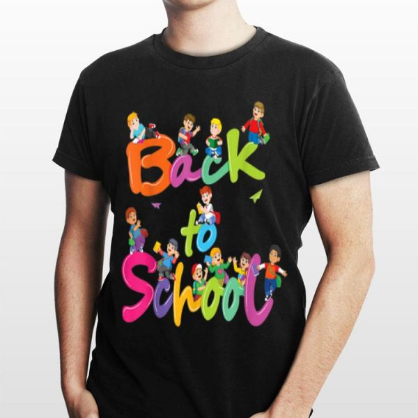 Back To Shool for Kids and Teacher 6 shirt