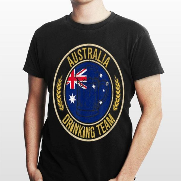 Beer Australia Drinking Team Casual shirt