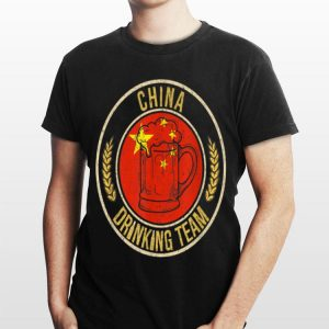 Beer China Drinking Team shirt
