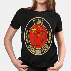 Beer China Drinking Team shirt