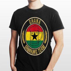 Beer Ghana Drinking Team shirt