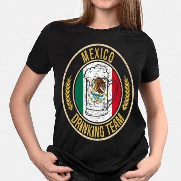 Beer Mexico Drinking Team Casual shirt