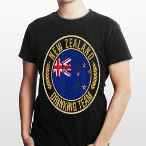 Beer New Zealand Drinking Team Casual shirt