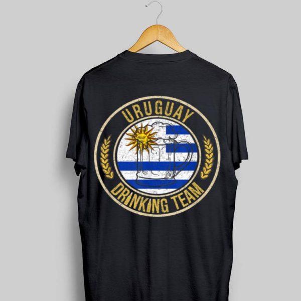 Beer Uruguay Drinking Team Casual shirt