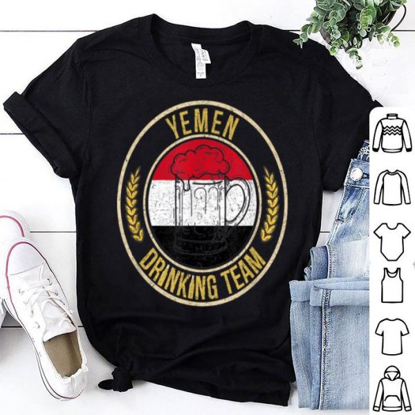 Beer Yemen Drinking Team shirt