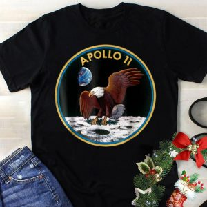 Best price Apollo 11 NASA Space Moon Landing Eagle With Olive shirt