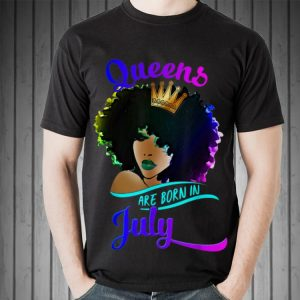 Crown Queen Are Born In July Cancer Leo Sweater 1