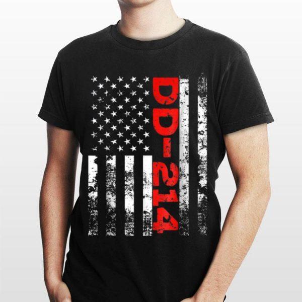 Dd 214 Us Alumni Usa American Flag Vintage shirt