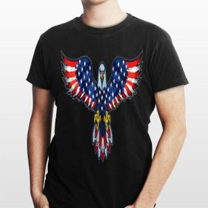 Distressed American Flag Eagle Fourth Of July 4Th shirt