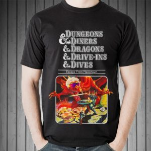 Dungeons Diners Dragons Drive-Ins Dives sweater