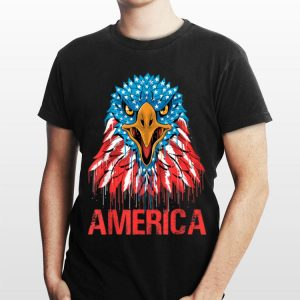 Eagle Mullet 4Th Of July American Flag Merica Usa shirt