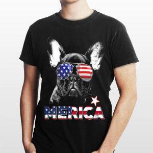French Bulldog Merica 4Th Of July Kids shirt