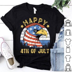 Happy 4Th Of July Eagle American Flag Patriotic shirt