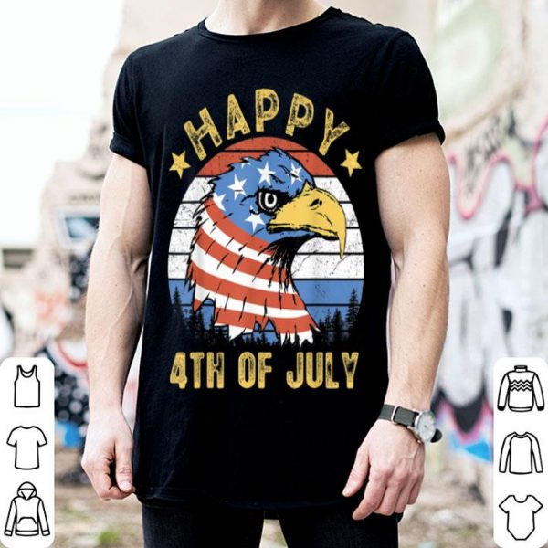 Happy 4Th Of July Eagle American Flag Patriotic shirt