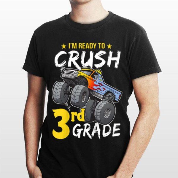 Kids 3rd Grade Monster Truck Back to School Boys shirt