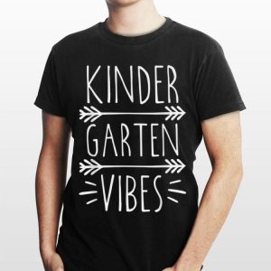 Kindergarten Vibes Back To School Teachers shirt