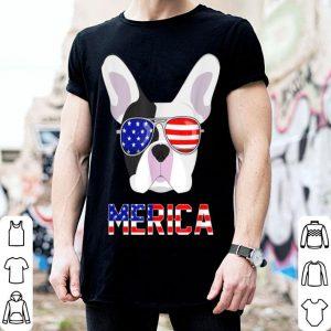Merica French Bulldog 4Th Of July Patriotic Dog shirt