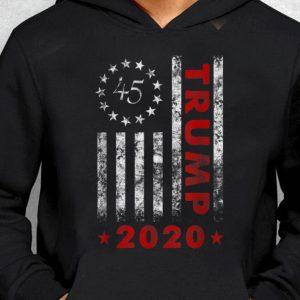 Nice Trend Trump 2020 Betsy Ross Flag 13 Star 45 shirt