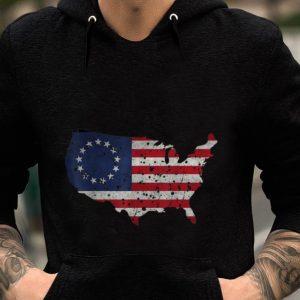 Premium Betsy Ross Flag Apparel USA Shape Revolutionary War shirt 1