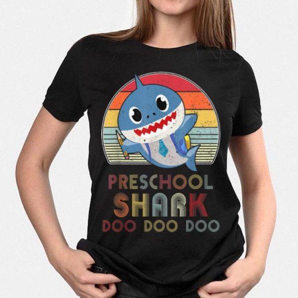 Preschool Shark Doo Doo Back To School shirt