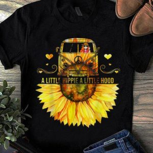 Sunflower Peace Bus A Little Hippie A Little Hood sweater