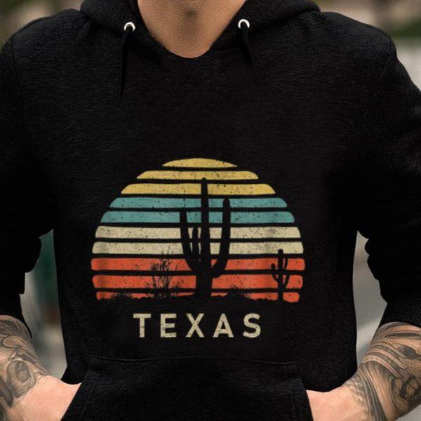 Texas Desert Cactus Vintage guy tee