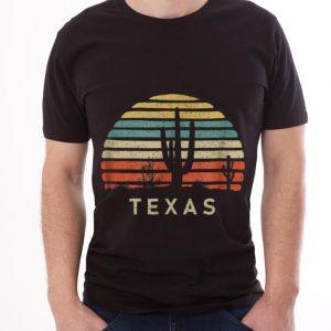 Texas Desert Cactus Vintage guy tee 2