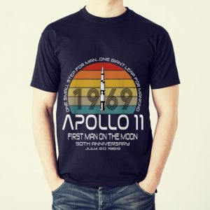 The Best One Small Step For man On Giant Leap For Mankind Apollo 11 First Man On The Moon Vintage shirt