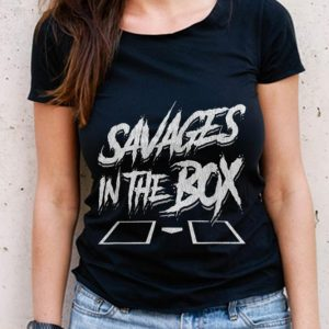 The Best Savages In The Box Baseball shirt